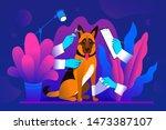 modern flat vector concept ... | Shutterstock .eps vector #1473387107