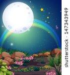 illustration of a rainbow... | Shutterstock .eps vector #147343949