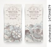 travel and nautical   vintage... | Shutterstock .eps vector #147344879