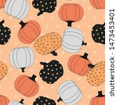 seamless pattern with colored... | Shutterstock .eps vector #1473453401