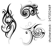 tribal art | Shutterstock .eps vector #147352469