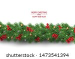 merry christmas and happy new... | Shutterstock .eps vector #1473541394