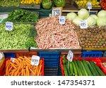 Different Kinds Of Vegetables...