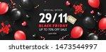 black friday sale background... | Shutterstock .eps vector #1473544997