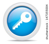 key isolated on white background   Shutterstock .eps vector #147355004