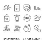 set of business icons  such as...