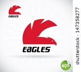 eagle symbol illustration  sign ...