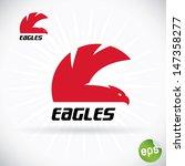 eagle symbol illustration  sign ...