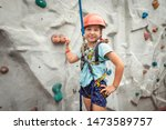 The Child Learns Climbing....