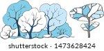vector drawing of deciduous...   Shutterstock .eps vector #1473628424