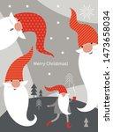 christmas card  seasons... | Shutterstock .eps vector #1473658034