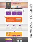 website design  homepage... | Shutterstock .eps vector #147368084