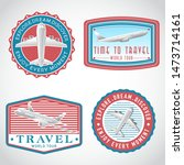 airplane transportation vector...   Shutterstock .eps vector #1473714161