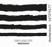 Seamless Grunge Black Stripes....