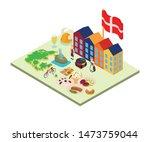scandinavia concept banner.... | Shutterstock .eps vector #1473759044