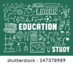 hand drawn vector illustration... | Shutterstock .eps vector #147378989