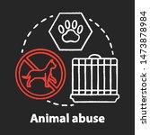 Animal Abuse And Harm Chalk...