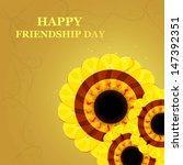 happy friendship day design... | Shutterstock .eps vector #147392351