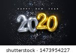 happy new 2020 year. holiday... | Shutterstock .eps vector #1473954227