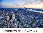 the new york city and new... | Shutterstock . vector #147398957