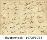set of various imaginary... | Shutterstock .eps vector #147399035