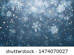 Christmas Snow. Falling...