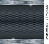 abstract metallic vector... | Shutterstock .eps vector #147407339