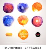 abstract aquarelle background... | Shutterstock .eps vector #147413885