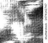 black and white grunge pattern... | Shutterstock . vector #1474142747