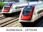 train series   two generic... | Shutterstock . vector #1474146