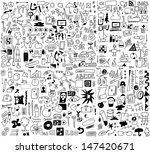 500 simplified design elements... | Shutterstock . vector #147420671