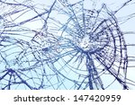 broken glass vector llustration | Shutterstock .eps vector #147420959