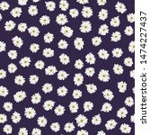 seamless plant pattern. small...   Shutterstock .eps vector #1474227437