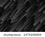 black 3d composition with... | Shutterstock .eps vector #1474240004