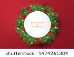 merry christmas and happy new... | Shutterstock .eps vector #1474261304
