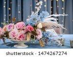 luxury dinner banquet in the... | Shutterstock . vector #1474267274