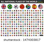 all national flags of the world ... | Shutterstock .eps vector #1474303817