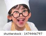 portrait cute little asian...   Shutterstock . vector #1474446797
