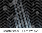 beautiful black abstract... | Shutterstock . vector #1474494464