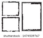 abstract grunge border frames... | Shutterstock .eps vector #1474539767