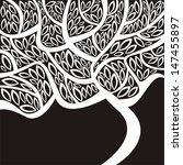 pattern tree vector illustration   Shutterstock .eps vector #147455897