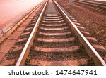 Railroad Stretching Into The...