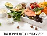ketogenic low carbs diet   food ... | Shutterstock . vector #1474653797