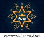 eid al adha mubarak islamic... | Shutterstock .eps vector #1474670501