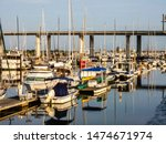 Yachts And Other Boats In Larg...
