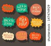 set of colorful speech bubbles  ... | Shutterstock .eps vector #147474929