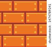 pixel art brick texture pattern ...