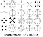 set of targets illustrated on... | Shutterstock .eps vector #147480815