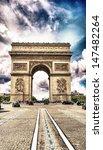 arc de triomphe  paris. triumph ... | Shutterstock . vector #147482264