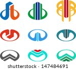 design vector logo template.... | Shutterstock .eps vector #147484691